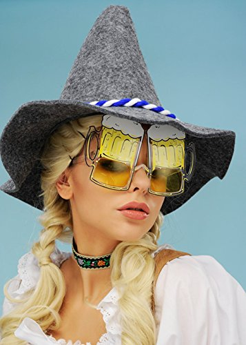 Chapeau bavarois gris