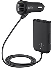 Belkin Road Rockstar F8M935bt06-BLK Car Charger for Apple iPhone, iPad (Black)