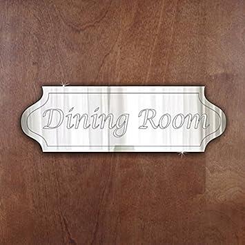 DINING ROOM Door Sign Plaque