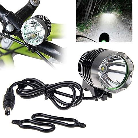 Phare LED, 10principales 3000Lumens 3modes Ultra Lumineux LED Lampe frontale Head Light Lampe de poche pour le camping chasse randonnée et activités de plein air