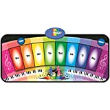 Tapete Musical, Foxom Moda Musical Toque Teclado Cantar Alfombra Tapete Divertido Musical Teclado Piano Juguete
