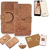 K-S-Trade 360° Cover cork Case for Blaupunkt SL 04 |