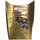 Les douceurs de Valentin Amandes et Noisettes Chocolat Lait Caramel 200 g - Lot de 2
