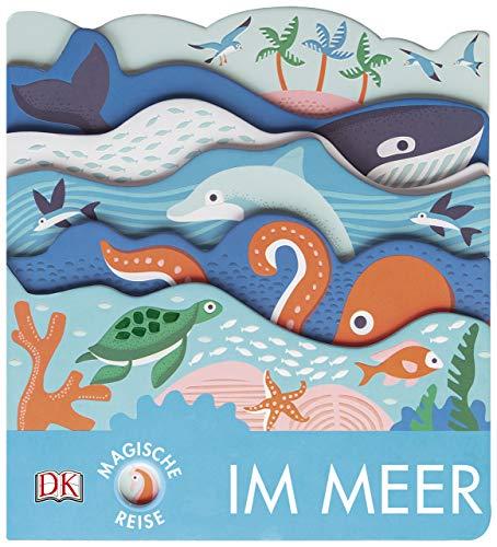 Magische Reise. Im Meer: Pappbilderbuch mit Glanz- und Struktur-Elementen ab 2 Jahren