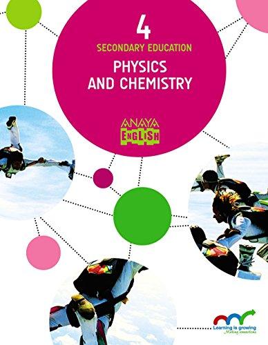 Physics and Chemistry 4. (Anaya English) - 9788469810965