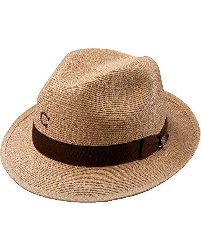 1dc23f8075d Charlie 1 Horse Women s Mojito Straw Fedora Hat - Brown - One Size