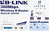 LB - LINK BL-WR3000 300Mbps Wireless AP/Client High Speed Router Router (White)