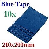 BlueTape Druckbett Klebe-Blatt 210x200mm 10 Blatt
