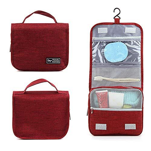 Organizzatori di imballaggio borsa da viaggio impermeabile per viaggio con gancio robusto borsa da viaggio portatile di grande capacità borsa da trucco multifunzionale borsa da toilette custodia trucc