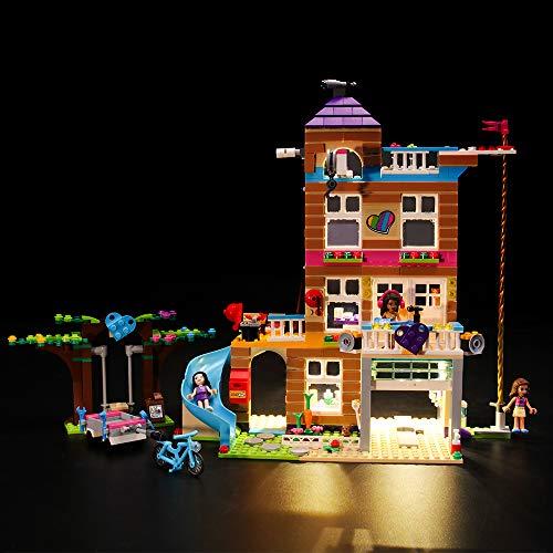 LIGHTAILING Conjunto de Luces (Friends Casa de la Amistad) Modelo de Construcción de Bloques - Kit de luz LED Compatible con Lego 41340 (NO Incluido en el Modelo)