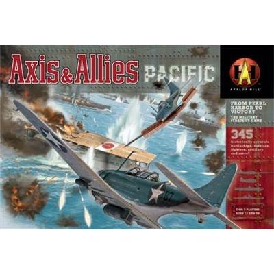 Milton Bradley 41388 - Axis und Allies: Pacific (Männer Des Schicksals Brettspiel)