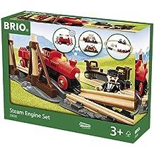 Brio - Set circuito de tren de vapor (33030)