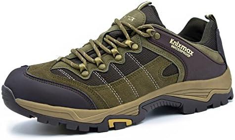 Knixmax Scarpe da Trekking Uomo Arrampicata Sportive All'aperto All'aperto All'aperto Escursionismo scarpe da ginnastica Scarpe da Uomo Impermeabili Traspiranti B077S4F6M4 Parent   Costi medi    acquisto speciale  0e4501