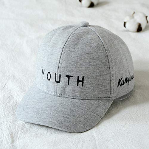 mlpnko New Boy Hut Mütze Sonnenhut kleines Mädchen Baseballmütze grau 1-5 Jahre alt geeignet für 48-50CM (Tiger Kostüm 2 Jahre Alt)
