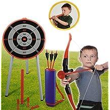 M.Y Juegos al aire libre - Juego de tiro con arco 2 en 1