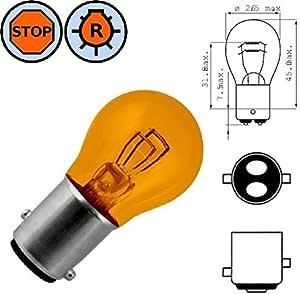 12v 21 5w Bay15d Orange GlÜhbirne Auto Bremslicht GlÜhlampe Autobirnen RÜcklicht Stopplicht Motorrad Moped Außenlampe Auto