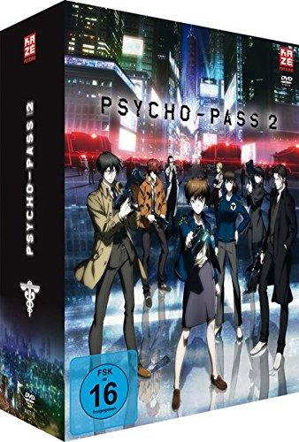 Psycho Pass - 2. Staffel - Box Vol.1 (2 DVDs) + Sammelschuber (Limited Edition) Test Av-tv