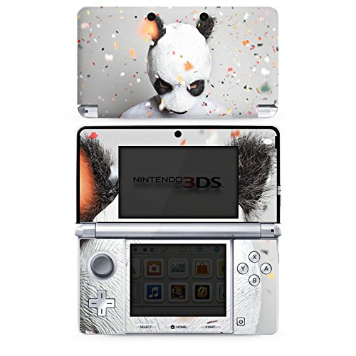 Nintendo 3 DS Case Skin Sticker aus Vinyl-Folie Aufkleber Cro Merchandise Fanartikel Panda Banda