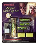 Halloween Make Up Kits Zombie Vampire Devil Complete Make Up Sets in One Listing (Zombie Zipper Make-up Kit) by FNA Fashions