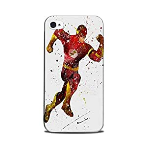 iPhone 5 / iPhone 5s Designer Printed Case & Covers (iPhone 5 / iPhone 5s Back Cover) - Superhero Flash