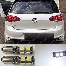 H21W 9SMD LED luce di posizione parcheggio kit set lampadine allo xeno bianco BAY9S senza errore Canbus EA7R5