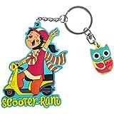 Chumbak Scooter Rani Keychain