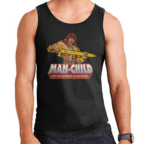 Man Child Son Of Zorn Men's Vest Black