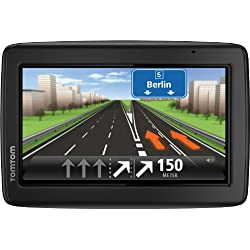 TomTom Start 25 M Europe Traffic Navigationsgerät (Free Lifetime Maps, 13 cm (5 Zoll) Display, TMC, Fahrspurassistent, Parkassistent, IQ Routes, 49 Länder) schwarz