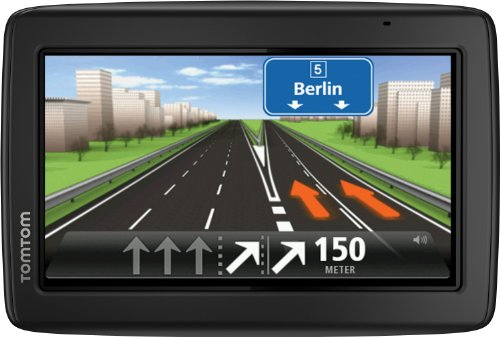 TomTom Start 25 M Europe Traffic Navigationsgerät (Free Lifetime Maps, 13 cm (5 Zoll) Display, TMC, Fahrspurassistent, Parkassistent, IQ Routes, 49 Länder) schwarz -