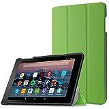 Hülle für Fire HD 8 (7. Generation - 2017) / das neue Fire HD 8 (6. Generation - 2016), Infiland Ultra Smart Slim Lightweight Schutzhülle mit Auto Schlaf / Wach Funktion Cover für Fire HD 8 (8-Zoll-Tablet, 7. Generation - 2017) / Das neue Fire HD 8 Tablet (6. Generation - 2016)(Grün)