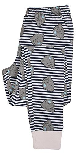 Damen Schlafanzug - T-Shirt & Lange Hose - Superhero - Baumwolle Tatty Teddy - Let's Stay Home