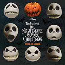 Nightmare Before Christmas Official 2018 Calendar - Square W (Calendar 2018)