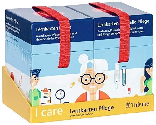 I care Lernkarten Pflege – Set (im Schuber)