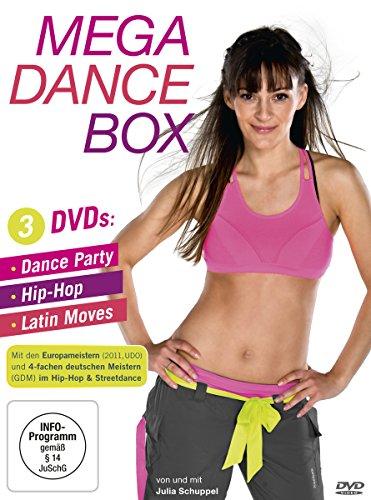 Mega Dance Box - Dance Party, Hip-Hop, Latin Moves [3 DVDs]