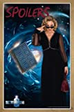 Doctor Who Poster Spoilers (66x96,5 cm) gerahmt in: Rahmen Eiche