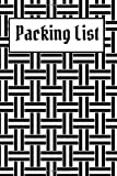 Packing List: Packing List To do List Checklist Manifesto Trip Planner Vacation Planning Adviser Itinerary Travel Diary Planner Organizer Budget Notes size 6*9 inches 100 Pages (Seamless 4): Volume 4