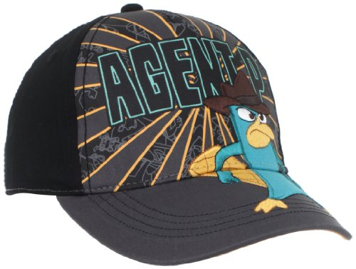 Phineas and Ferb Agent Perry Grey Youth Adjustable Velcro Cap