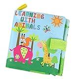 Baoblaze Libro de Conocimiento para Bebés Niños No Tóxico Juguetes para Bebés Primera Infancia DIY - # 4 Animal