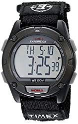 Timex Men s Expedition Full-Size Classic Digital Chrono Alarm Timer Watch Black/Gray