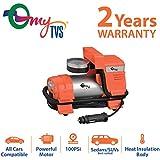 myTVS TI-4 Car Metallic Heavy Duty Tyre Inflator 2 Years Warranty