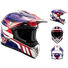 Soxon Casco Enduro y Motocross, Speed Sea, XL (61-62)