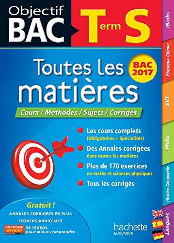 Objectif Bac - Toutes les matières Term S