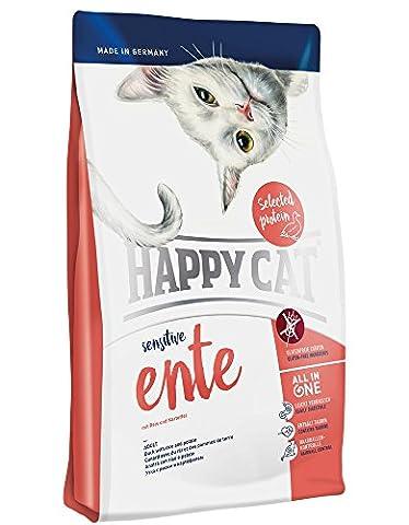 Happy Cat La Cuisine Canard Croquette pour Chat Adulte 4 kg