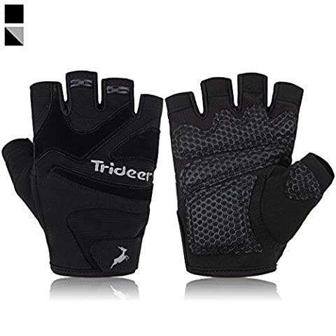 Trideer Ultralight Weight Lifting Gym Gloves, Light Microfiber & Anti-Slip