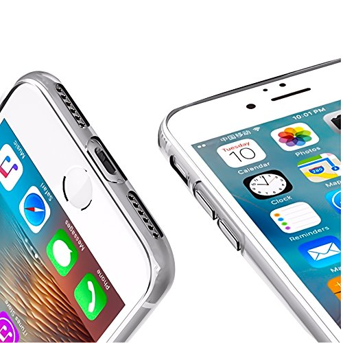 iPhone SE, 5S, 5 Hülle Schwarz Backcover Silikon Schutzhülle im Basic Design Cover aus TPU Rückschale Motiv 5