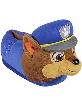 Paw Patrol Chase - Zapatillas de estar por casa cerrada, color azul
