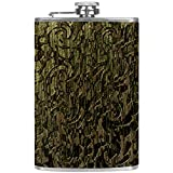 Ragazza oscillante piatto fiaschetta per liquori con imbuto alcool whisky flagon, Mutli10, 9.2x15cm/3.6x6in