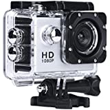 Sliver : Kolylong Mini 1080P Full HD DV Sports Recorder Car Waterproof Action Camera Camcorder