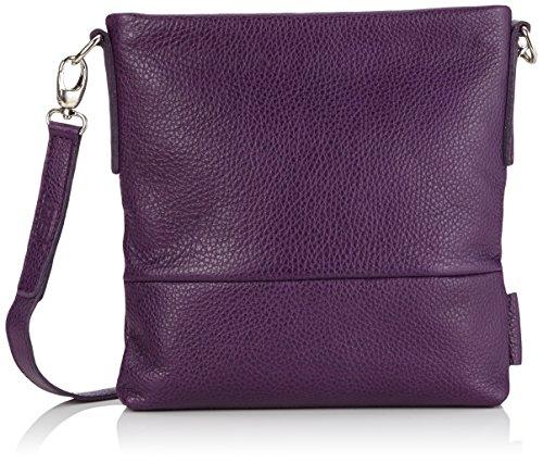 Leonard A. DeFusco - Vika Shoulder Bag Xs, Borsa a tracolla da donna Porpora (Berry)