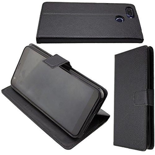 caseroxx Hülle/Tasche Bookstyle-Case Archos Core 60s Handy-Tasche, Wallet-Case Klapptasche in schwarz